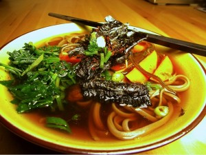 Japanese Noodles and Broth